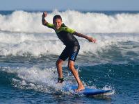 deuxieme jour leçon surf