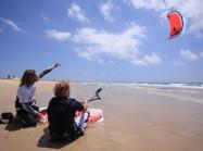 La coordination est le point clefs en kitesurf