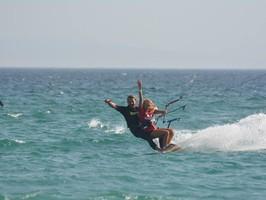 Ecole Tandem kitesurf à Tarifa