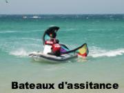 notre bateau de sauvetage à Tarifa